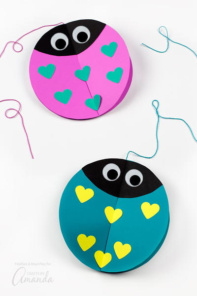 Twirling Love Bug Craft