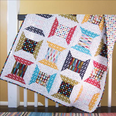 10 Fabulous Fat Quarter Quilt Patterns | FaveQuilts.com : quilts from fat quarters - Adamdwight.com