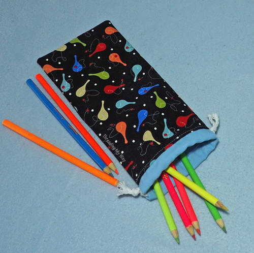 Easy Sew Pencil Pouch Tutorial