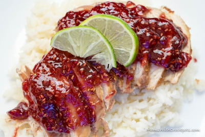 Slow Cooker Raspberry Chipotle Chicken