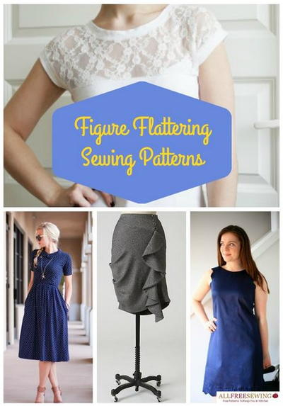 40 Figure Flattering Free Sewing Patterns AllFreeSewing Fascinating Free Dress Patterns For Women