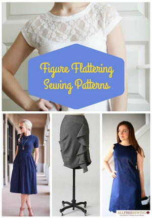 35+ Figure Flattering Free Sewing Patterns