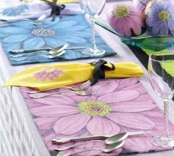 Dandy Daisies Easter Table Setting