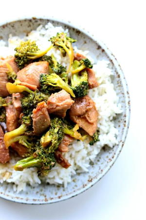 Slow Cooker Pork and Broccoli