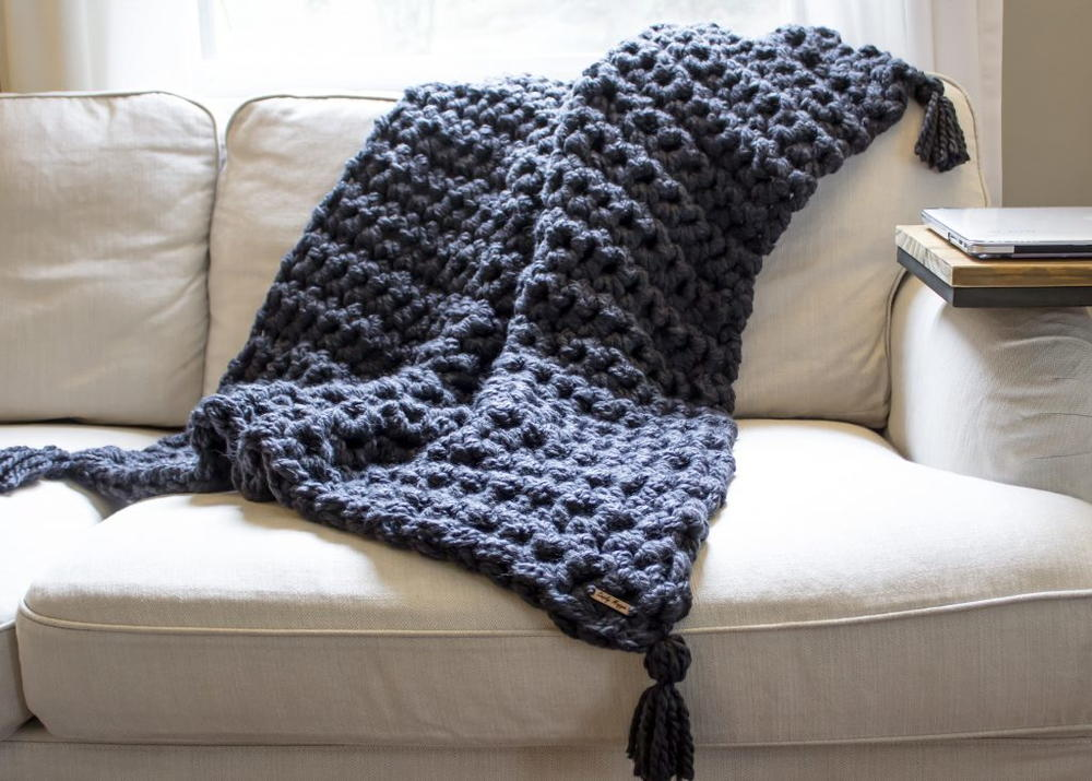 19 Bulky Yarn Crochet Blanket Patterns Favecrafts