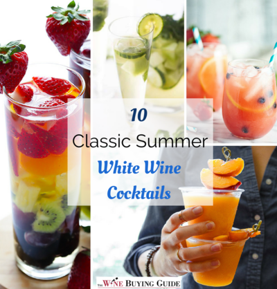 10 Classic Summer White Wine Cocktails