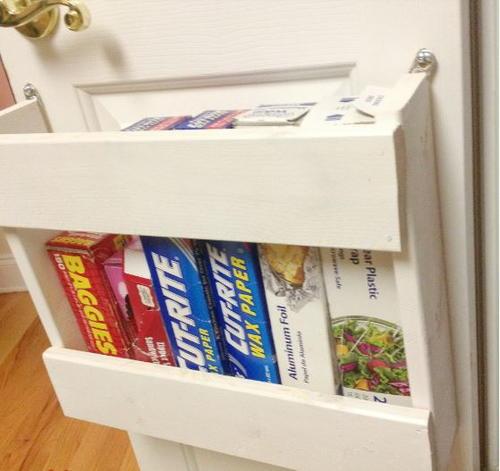 Pantry DIY Door Organizer