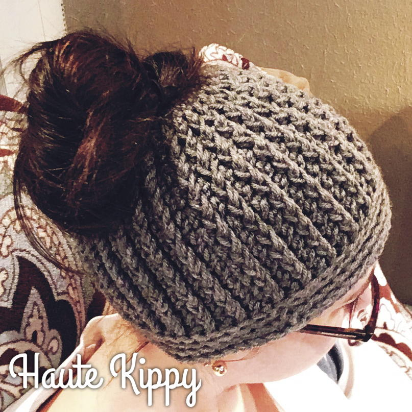 32 Messy Bun Hat Patterns Allfreecrochet