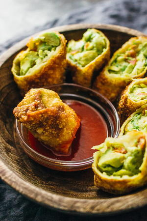 Easy Cheesecake Factory Avocado Egg Rolls Copycat