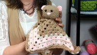 Baby's Favorite Crochet Bear Lovie