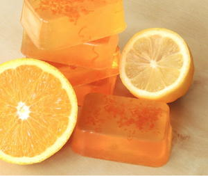 Orange Zest Lemon Soap Tutorial