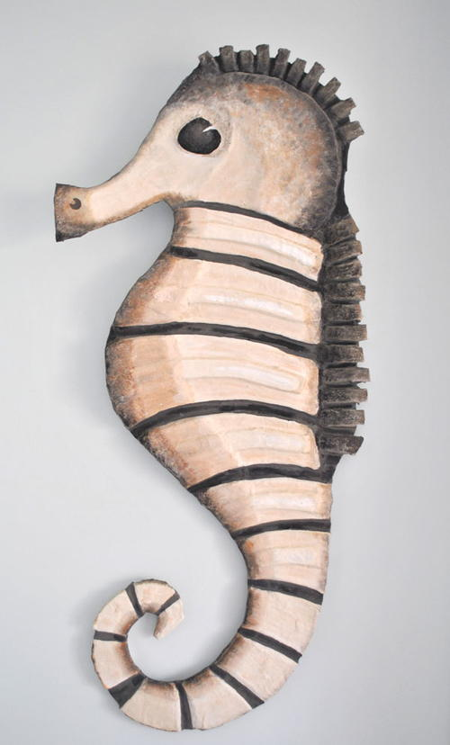Sea Horse Wall Sculpture