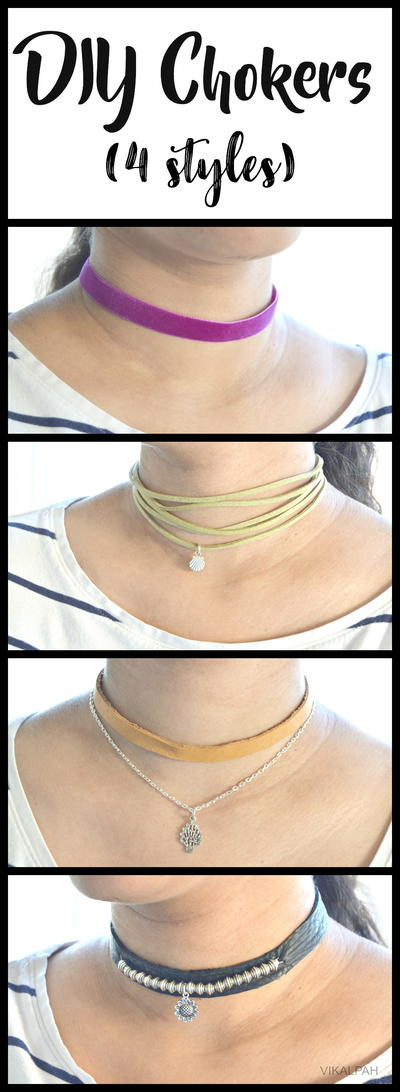 DIY Chokers in Different Styles