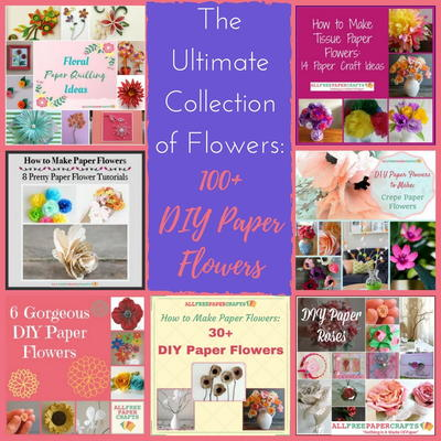 how to make different types of flowers from paper