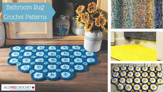 Bathroom Rug Crochet Patterns Allfreecrochet