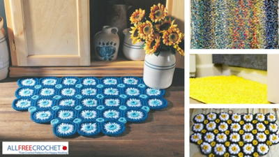 19 Bathroom Rug Crochet Patterns