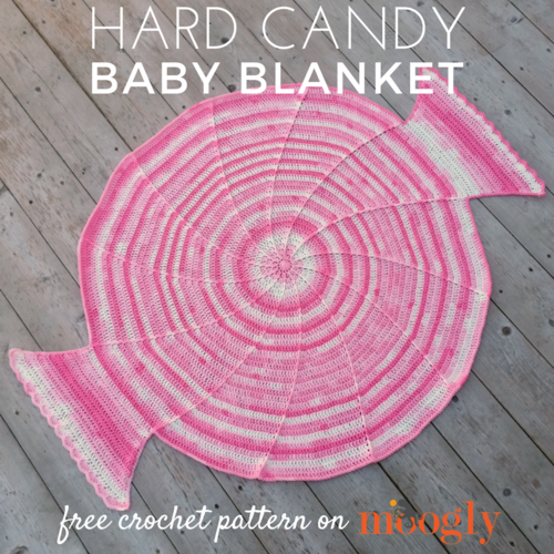 Hard Candy Baby Blanket