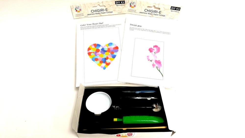 Japanese Creations Chigiri E Washi Paper Art Kits Review
