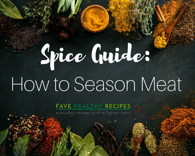 Spice Guide How to Season Meat