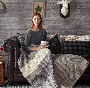 Cabin Comforts Knit Blanket