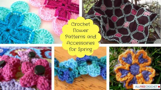 68 Crochet Flower Patterns To Make This Spring Allfreecrochet