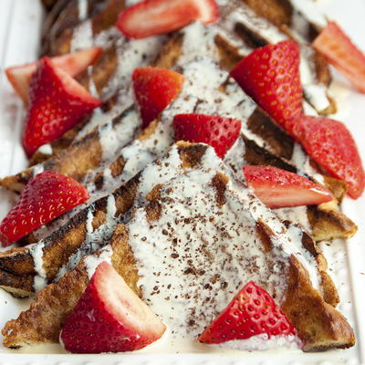 White Chocolate French Toast