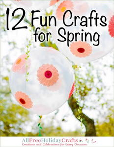 12 Fun Crafts for Spring