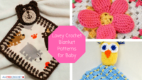 18 Lovey Crochet Blanket Patterns for Baby