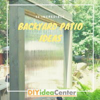 32 Incredible Backyard Patio Ideas