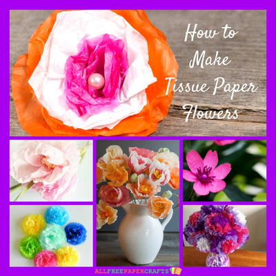 How to make tissue paper flowers 14 paper craft ideas how to make tissue paper flowers 14 paper craft ideas mightylinksfo