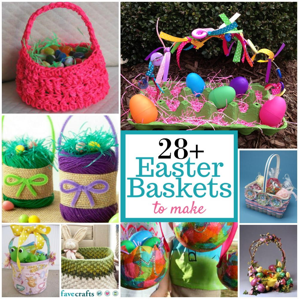 easter basket craft ideas diy easter basket ideas 28 easter baskets to make 4296