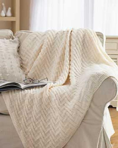 Simple Chunky Blanket Favecrafts Com