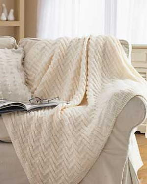 Simple Chunky Blanket
