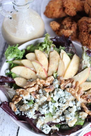 Apple, Blue Cheese & Walnut Salad