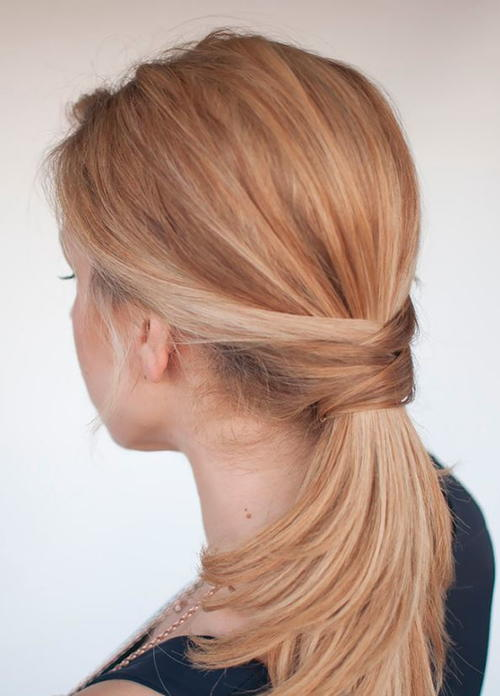 3 Quick Ponytail Hairstyles | DIYIdeaCenter.com