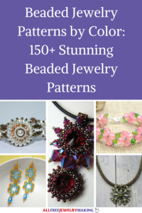 Beaded Jewelry Patterns by Color: 150+ Stunning Beaded Jewelry Patterns