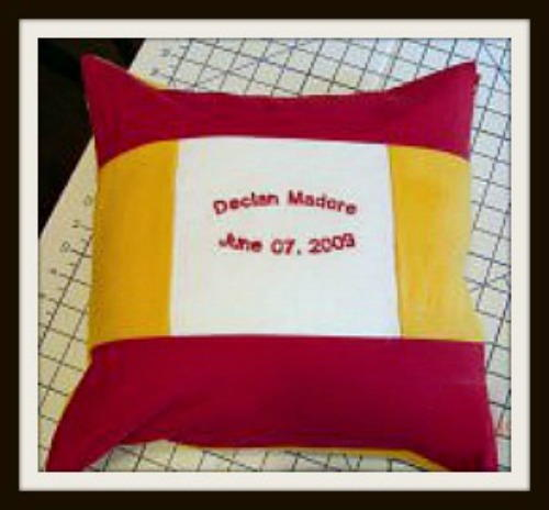 Easy Traditional Pillow Pattern