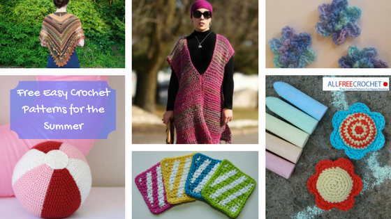 18 Free Easy Crochet Patterns For The Summer Allfreecrochet