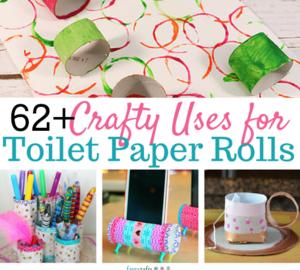 Best Toilet Paper Roll Crafts Decoration Ideas
