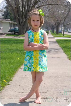 The Tropisch Dress Pattern