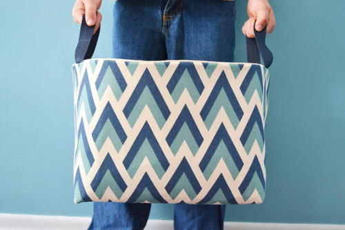 DIY Fabric Basket Tutorial