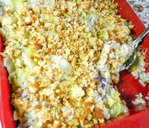 Cabbage and Rice Casserole