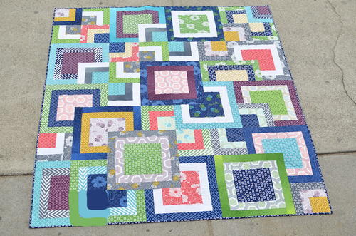 Simply Stacked Squares Quilt