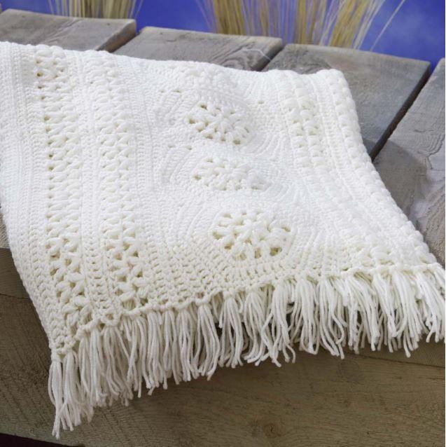 Keeping it Classic Crochet Afghan Pattern ...