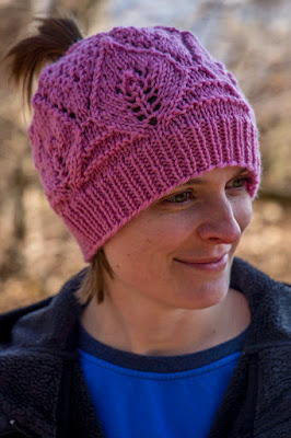 Pretty in Pink Ponytail Hat