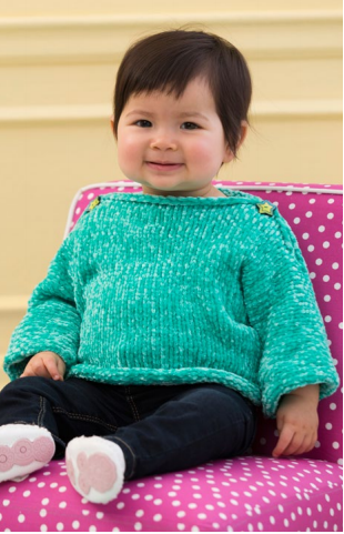 Simple and Soft Baby Pullover