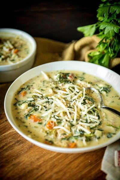 slow cooker copycat olive garden chicken gnocchi soup - Chicken Gnocchi Soup Olive Garden