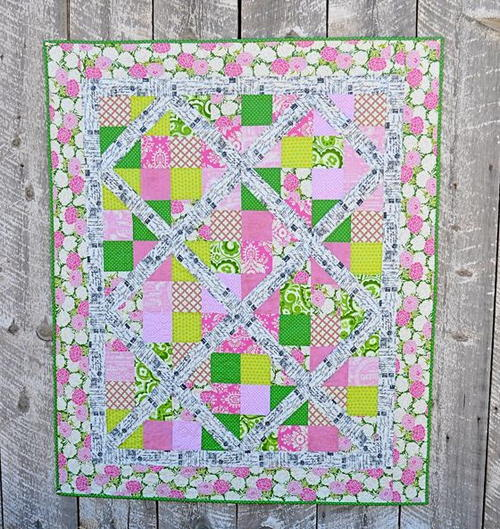 First Lady 4 Patch Slice Quilt