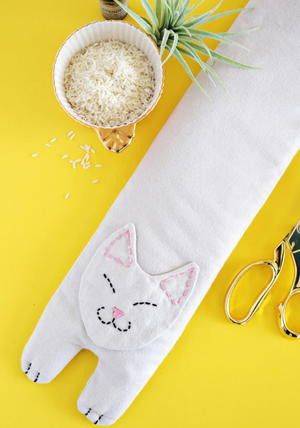 Kitty Rice Heating Pack Pattern