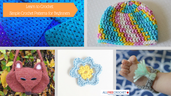 39 Easy Crochet Patterns For Beginners Allfreecrochet